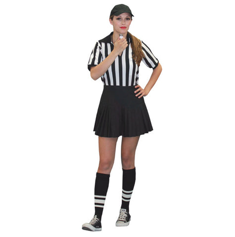Referee (female) in Theatrical Costumes from BuffaloBreath at Buffalo Breath Costumes