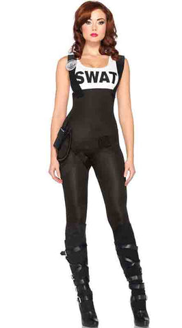 SWAT Bombshell sexy cop costume by Leg Avenue at Buffalo Breath Costumes in San Diego