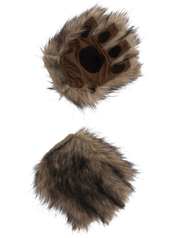 Squirrel Brown Fingerless Paws by Elope 424017 at Buffalo Breath Costumes
