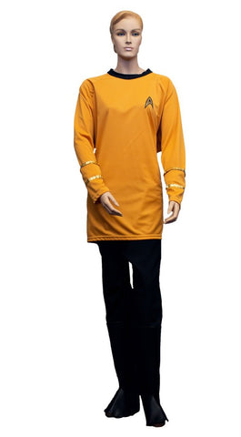 Star Trek original series Captain Kirk costume rental at Buffalo Breath Costumes in San Diego