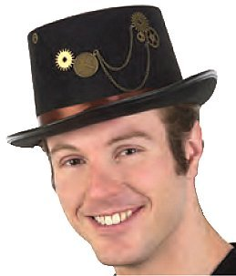 Steampunk Top Hat costume accessory by Jacobson Hats at Buffalo Breath Costumes
