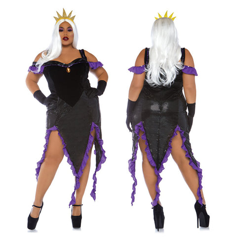 Sultry Sea Witch plus size costume by Leg Avenue 86764X at Buffalo Breath Costumes
