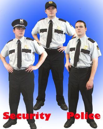 Security Officer (each) in Theatrical Costumes from BuffaloBreath at Buffalo Breath Costumes