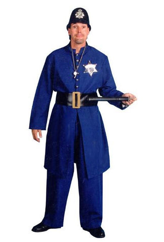 Navy Blue Keystone Kop in Theatrical Costumes from BuffaloBreath at Buffalo Breath Costumes