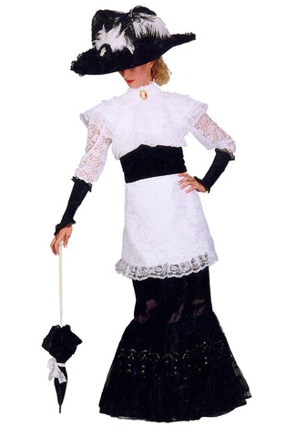 Victorian My Fair Lady deluxe costume rental or purchase at Buffalo Breath Costumes in San Diego