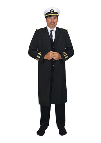 Captain of The Titanic in Theatrical Costumes from BuffaloBreath at Buffalo Breath Costumes