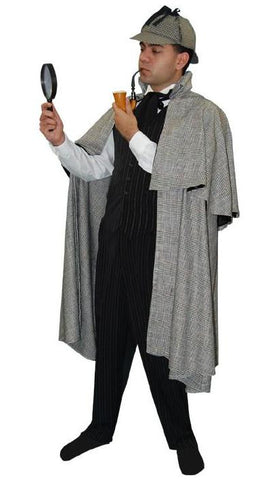Sherlock Holmes in Theatrical Costumes from BuffaloBreath at Buffalo Breath Costumes
