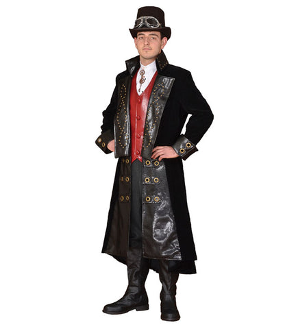 Mister Steampunk in Theatrical Costumes from BuffaloBreath at Buffalo Breath Costumes