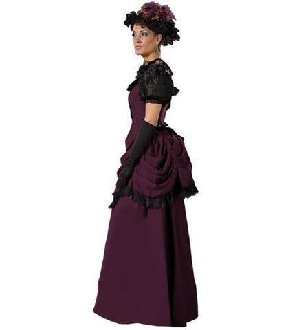 Isabel Victorian dress costume rental or purchase at Buffalo Breath Costumes