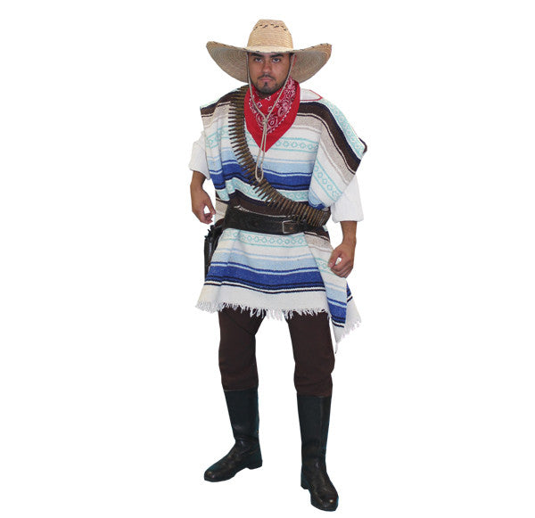 Mexican Bandido in Theatrical Costumes from BuffaloBreath at Buffalo Breath Costumes