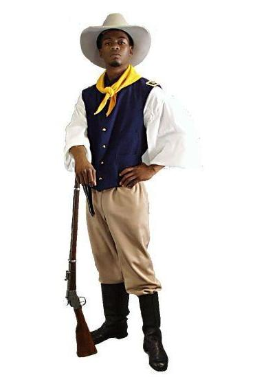 Buffalo Soldier in Theatrical Costumes from BuffaloBreath at Buffalo Breath Costumes