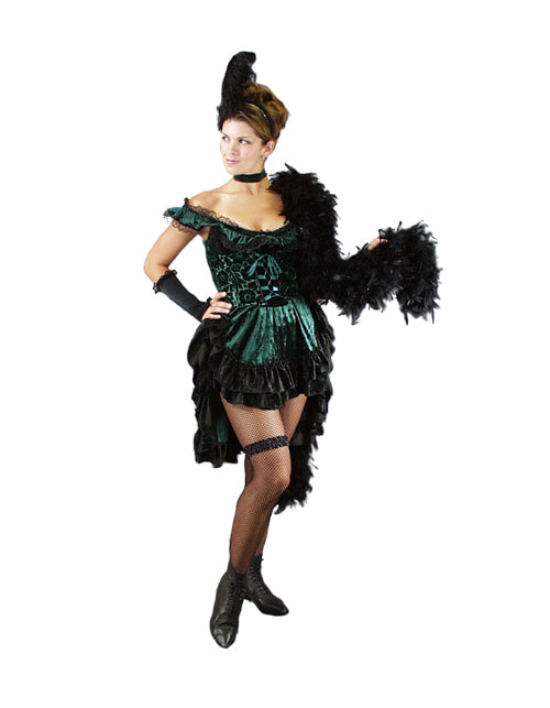 Dance Hall Gal western / burlesque costume rental at Buffalo Breath Costumes in San Diego