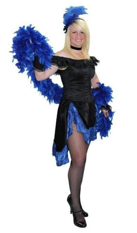 Saloon Gal (Corset Blue) in Theatrical Costumes from BuffaloBreath at Buffalo Breath Costumes
