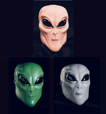 Alien Masks by Rubie's at Buffalo Breath Costumes in San Diego