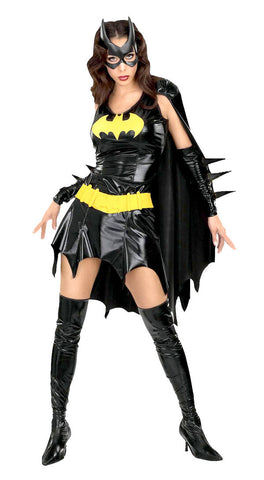 Batgirl superhero costume by Rubie's 888440 at Buffalo Breath Costumes