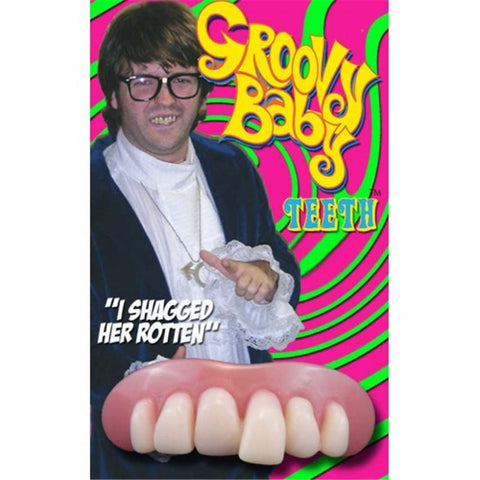 Groovy Baby Austin Powers Teeth by Billy-Bob at Buffalo Breath Costumes