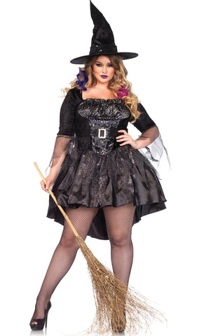 Black Magic Mistress witch costume by Leg Avenue 85475X