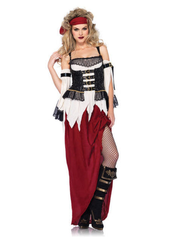 Buried Treasure Beauty pirate costume by Leg Avenue 85301 at Buffalo Breath Costumes