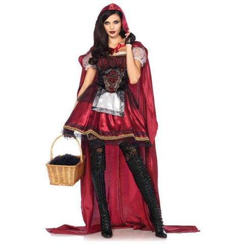 Captivating Miss Red costume by Leg Avenue 85541 at Buffalo Breath Costumes