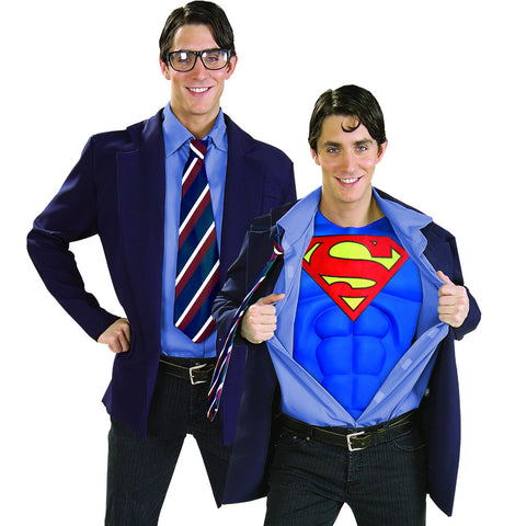 Clark Kent Superman costume by Rubie's at Buffalo Breath Costumes