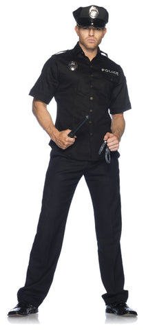 Cuff Em' Cop police officer uniform costume by Leg Avenue 83122 at Buffalo Breath Costumes