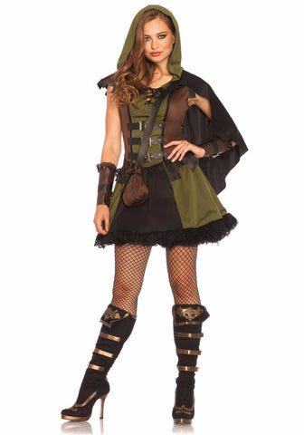 Darling Robin Hood costume by Leg Avenue 85281