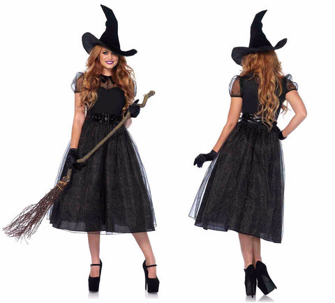 Darling Spellcaster witch costume by Leg Avenue 85529 at Buffalo Breath Costumes