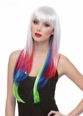 Derby Girl Multi-Color Wig