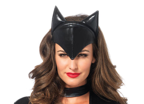 Feline Femme Fatale Cat Mask by Leg Avenue A1048 at Buffalo Breath Costumes