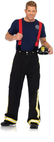 Fire Captain costume by Leg Avenue 83684 at Buffalo Breath Costumes