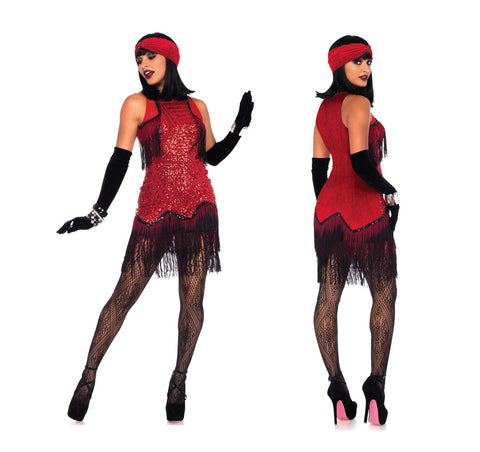Gatsby Girl 1920s flapper costume by Leg Avenue 86698 at Buffalo Breath Costumes