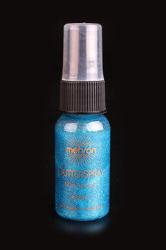 Mehron Glitter Spray Blue