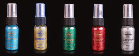 Mehron Glitter Spray