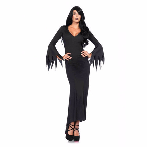 Floor Length Gothic Dress by Leg Avenue at Buffalo Breath Costumes