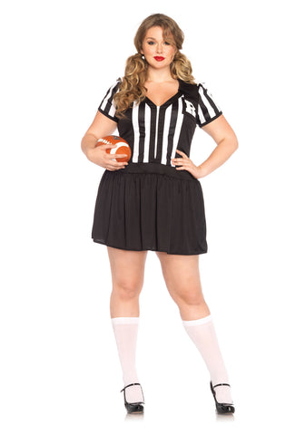 Halftime Hottie referee costume by Leg Avenue 85390X