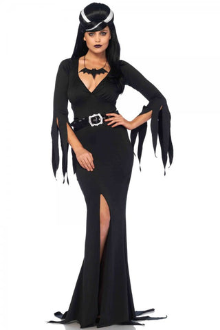 Immortal Mistress Elvira costume by Leg Avenue 85571 at Buffalo Breath Costumes