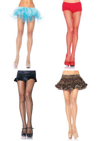 Spandex Industrial Net Pantyhose by Leg Avenue 9003
