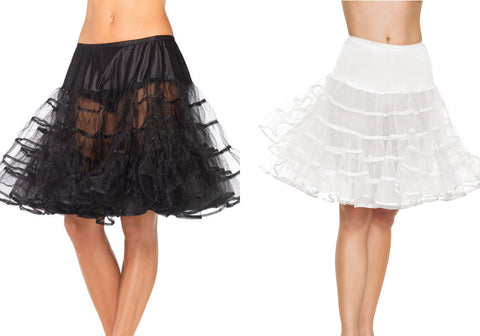Knee Length Petticoats by Leg Avenue 83043 at Buffalo Breath Costumes in San Diego