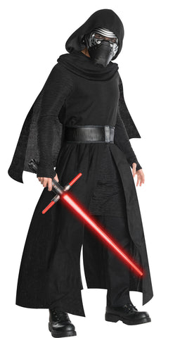 Star Wars Kylo Ren deluxe costume by Rubie's 820209 at Buffalo Breath Costumes