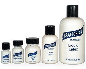 Liquid Latex by Graftobian Professional Make-Up at Buffalo Breath Costumes