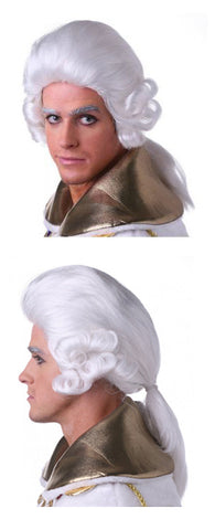 Mens Colonial Louis Wig by West Bay at Buffalo Breath Costumes in San Diego