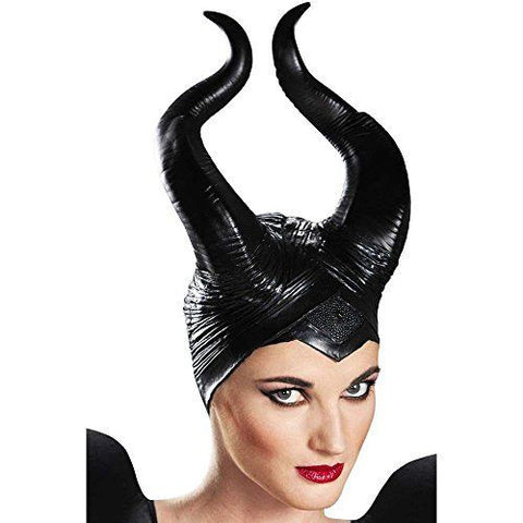 Disney Maleficent deluxe vinyl headpiece by Disguise 71849 at Buffalo Breath Costumes