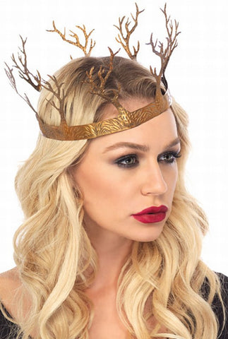 Metal Fantasy Forest Crown by Leg Avenue A2809