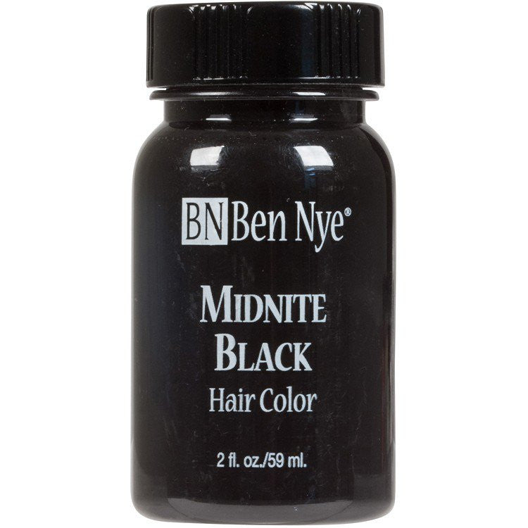 Ben Nye Midnite Black Hair Color at Buffalo Breath Costume
