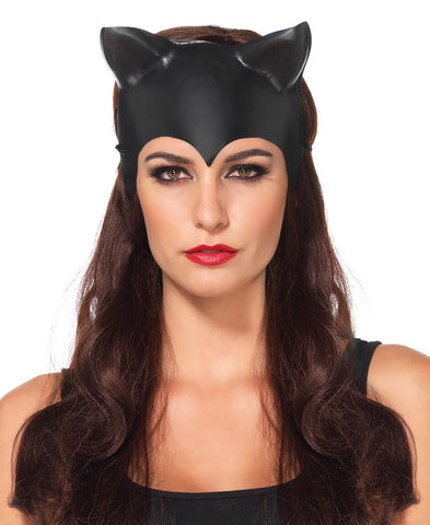 Molded Cat Ear Mask by Leg Avenue A2756 at Buffalo Breath Costumes