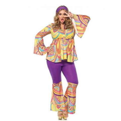 Purple Haze Hippie costume by Leg Avenue 86645X