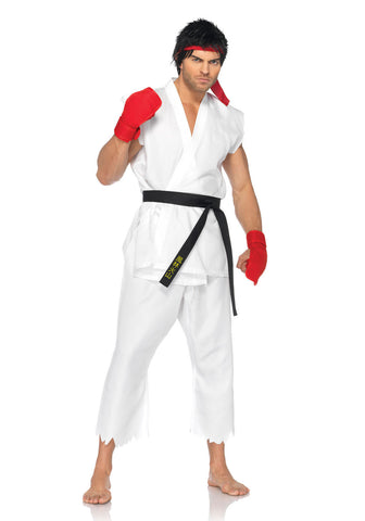 Street Fighter Ryu costume by Leg Avenue at Buffalo Breath Costumes