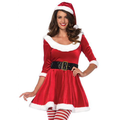 Santa Sweetie christmas costume by Leg Avenue 86615