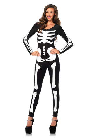 Glow-in-the-Dark Skeleton Catsuit