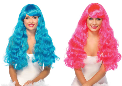 Starbright Long Wavy Wigs by Leg Avenue A1979